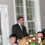 Mr. Shmuel Wealcatch at 2012 Annual Breakfast